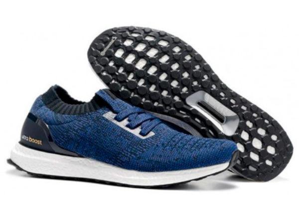 Кроссовки Adidas Ultra Boost мужские синие с черным