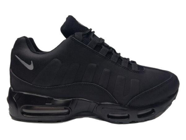 Зимние Nike Air Max 95 Low черные