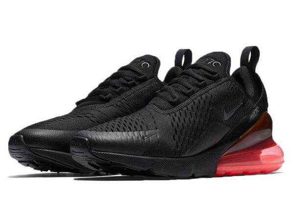 Nike Air Max 270 черные с красным