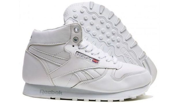 Reebok High With Fur All White (40-45)