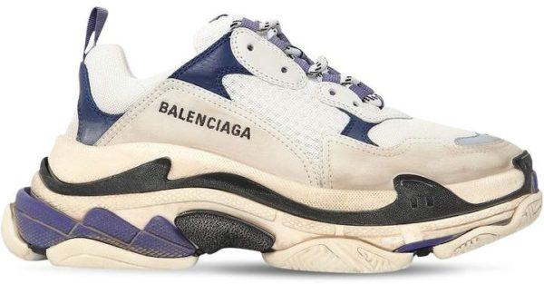 Фиолетовые замшевые кроссовки