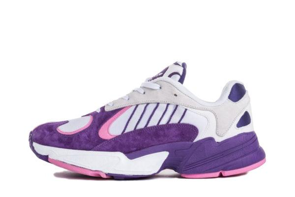 Сиреневые замшевые кроссовки