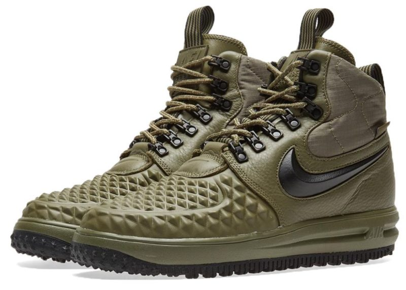 Nike Air Force 1 Lunar Duckboot зеленые (40-44)