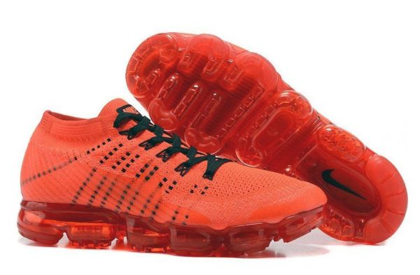 Nike Air VaporMax Flyknit Orange оранжевые 40-44