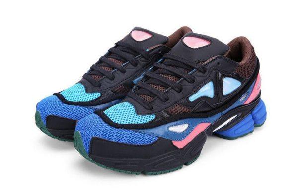 Adidas Ozweego 2 Raf Simons x Black Blue Pink синие (35-44)