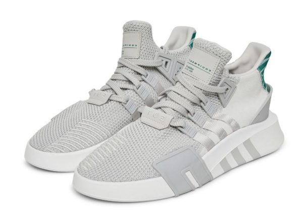 Adidas EQT Bask ADV серые с белым (40-44)