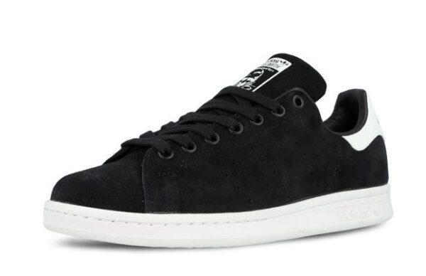 "Adidas Stan Smith ""Suede"" черные с белым (40-44)"
