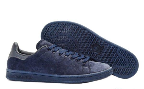 "Adidas Stan Smith ""Suede"" темно-синие (39-44)"