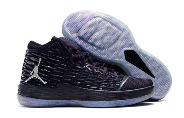 Nike Air Jordan Melo M13 черные с белым (40-44)