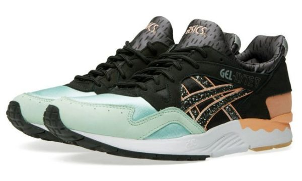Asics Gel Lyte 5 «Hafnia» (black/brich) (35-44)