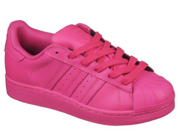 Adidas Superstar малиновые (35-39) Адидас Суперстар.