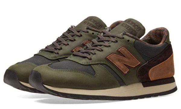 Зеленые кроссовки New Balance