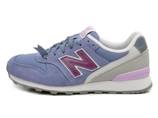 Сиреневые кроссовки New Balance
