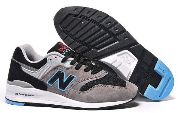 New Balance 997 серые с синим (35-39)