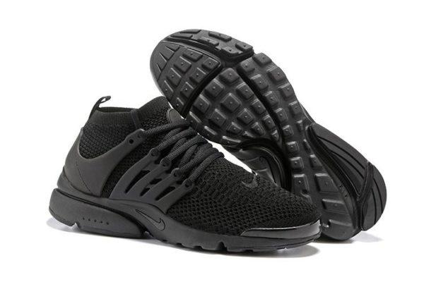 Nike Air Presto Flyknit Ultra черные (39-44)
