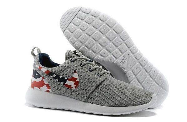 Nike Roshe Run (Wolf Grey/USA Flag) (39-44)