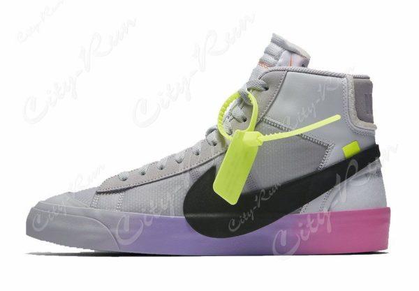 Фиолетовые мужские кроссовки