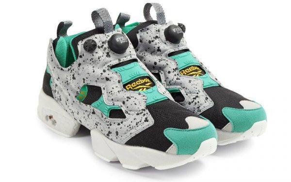 Бирюзовые кроссовки Reebok