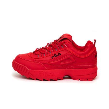 Fila Disruptor 2 red красные (35-39)