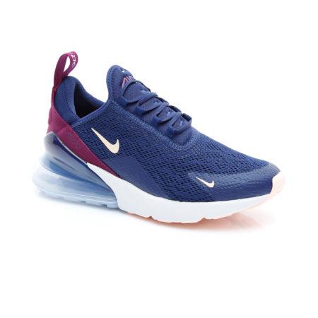 Nike Air Max 270 синие/бордовые-Blue/Claret (35-39)