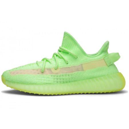 "Adidas Yeezy Boost 350 V2 Static green ""Glow"" (35-44)"